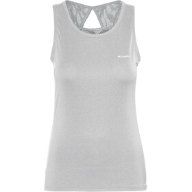 Columbia Peak to Point Novelty Top sin Mangas Mujer, columbia grey